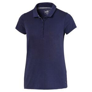 Puma Golf Fusion Mesh Ladies Golf Polo Shirt, Female, Peacoat, XL