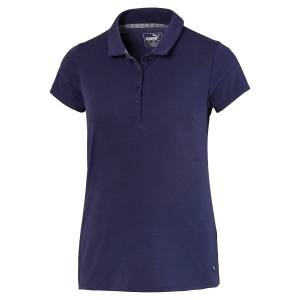 PUMAGolf PUMA Golf Fusion Mesh Ladies Golf Polo Shirt, Female, Peacoat, XS