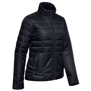 UnderArmour Under Armour Insulated Ladies Golf Jacket, Female, Black/Black, Small