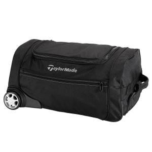 Taylormade Mens Black Performance Rolling Carry On Bag