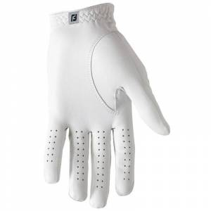 Footjoy Contour FLX Golf Glove, Male, Left Hand, Small, White