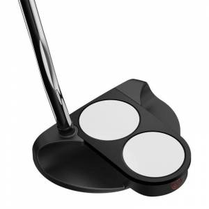 Odyssey O-Works Black 2-Ball Putter, Male, Left Hand, 34 Inches
