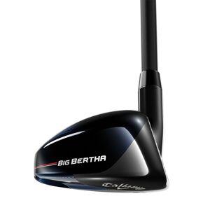 Callaway Golf Mens Black Big Bertha B21 Right Hand Graphite Lite Golf Hybrid, Size: 21°