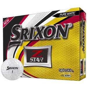 Srixon Mens White Z Star 12 Ball Pack 2019