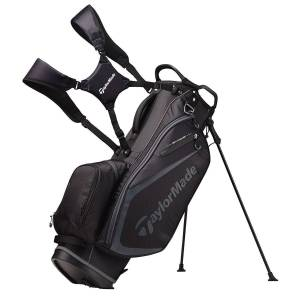Taylormade Select Plus Golf Stand Bag, Black/Charcoal