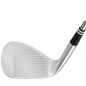 Cleveland Golf Mens Silver RTX ZipCore Tour Satin Right Hand Standard Steel Golf Wedge, Size: 54°