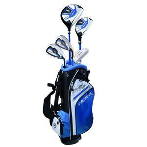 Fazer J TEK 5.0 Age 6-8 Junior Package Set, Unisex, Right Hand, Golf Stand Bag, Blue