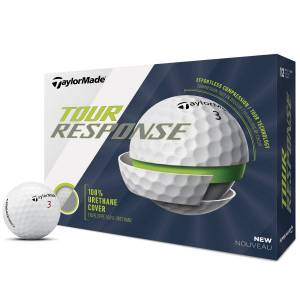 Taylormade Tour Response 12 Ball Pack, Male, White