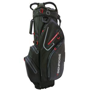 Benross PROTEC 2.0 Waterproof Golf Stand Bag, Black/grey, One Size American Golf