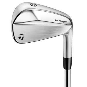 Taylormade P7MB Steel Irons, Male, 4-PW (7 Irons), Right Hand, Steel, Stiff