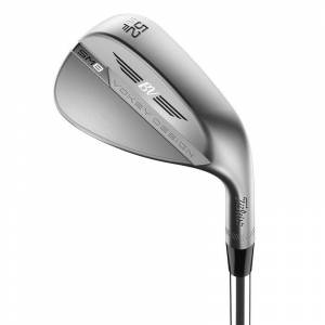Titleist Silver SM8 Vokey Tour Right Hand Steel Chrome Wedge, Size: 56 F Grind