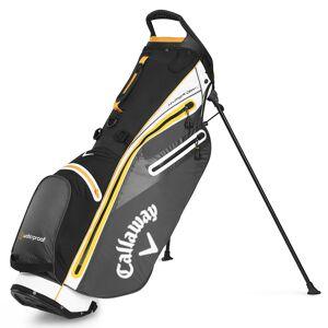 CallawayGolf Callaway Golf Hyper Dry C Golf Stand Bag, White/Titanium/Orange