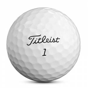 Titleist Mens White Pro V1 2019 Pack of 12 Balls, Size: One Size