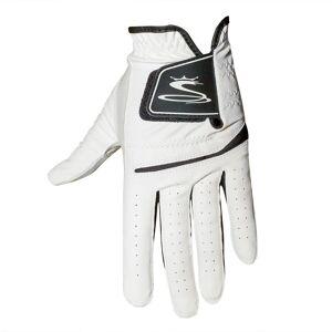 CobraGolf Cobra Golf Flex Cell Golf Glove, Male, Left Hand, XL, White