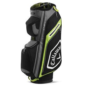 CallawayGolf Callaway Golf Chev 14+ Golf Cart Bag, Black/Yellow