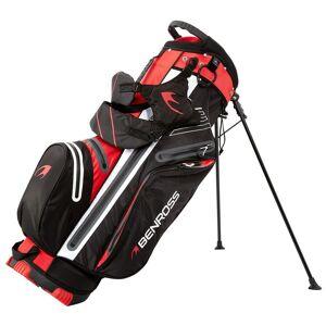 Benross PROTEC Waterproof Golf Stand Bag, Black Red