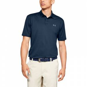 Under Armour Performance 2.0 Golf Polo Shirt, Mens, Academy, Small    Online Golf