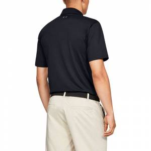 Under Armour Performance 2.0 Golf Polo Shirt, Mens, Black, Small Online Golf
