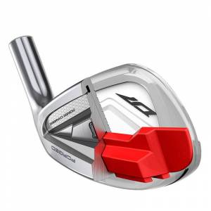 Wilson Staff Mens Silver D7 Forged Right Hand Steel Regular 7 Golf Irons, Size: 5-GW