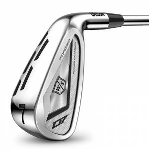 Wilson Staff Mens Silver D7 Forged Right Hand Steel Regular 7 Golf Irons, Size: 5-GW