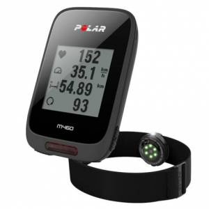 Polar M460 GPS Bike Computer - Black / GPS / With OH1 HR Monitor