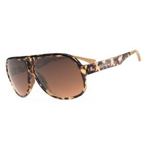 Goodr Superfly Polarized Sunglasses - Shaves Legs Grows Beard / Tortoiseshell / Gradient Dark Lens