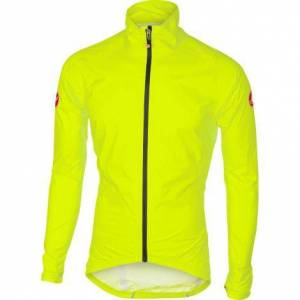 Castelli Emergency Rain Cycling Jacket - SS20 - Yellow Fluo / Small