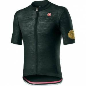 Castelli Giro Prosecco Short Sleeve Cycling Jersey - SS20 - Bottle Green / Small