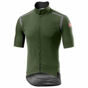 Castelli Gabba ROS Short Sleeve Cycling Jersey - AW20 - Military Green / Small
