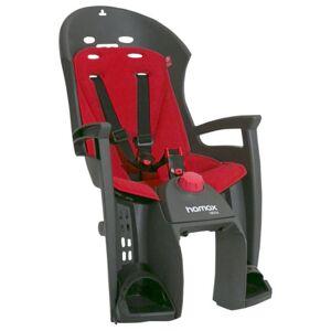 Hamax Siesta Rear Pannier Rack Mount Childseat - Grey / Red / Rear Mounted