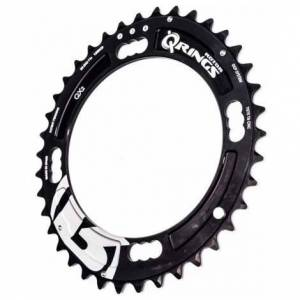 Rotor Q-Ring Chainring For Sram XX Chainset - Black / 4 Arm, 120mm / 40 / Outer