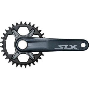 Shimano SLX M7100 Single 12 Speed Chainset With Chainring - Dark Grey / 32 / 175mm / 12 Speed