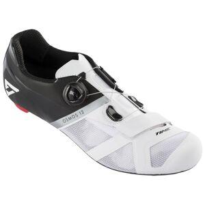 Time Osmos 12 Road Cycling Shoes - White / Black / EU45