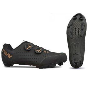 Northwave Rebel 3 MTB Shoes - 2021 - Black / Gold / EU45