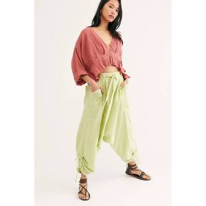Endless Summer Major Crush Harem Pants by Endless Summer at Free People, Mineral Lime, XS  - Mineral Lime
