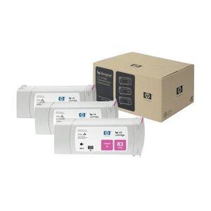 HP 83 Magenta UV Original 3 Ink Multipack