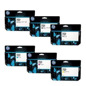 HP Original Multipack HP DesignJet T2530 Printer Ink Cartridges (6 Pack) -F9J78A