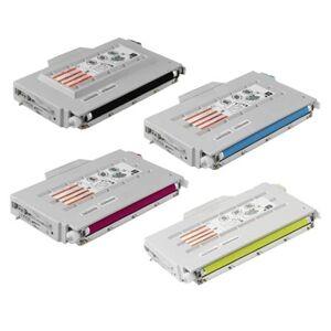 Printerinks Compatible Multipack Brother HL-2400 Printer Toner Cartridges (4 Pack) -TN01BK