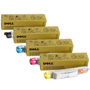 Dell 593-10119/25 Full Set Original Toners (4 Pack)