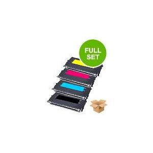 Printerinks Compatible Multipack Lexmark C736n Printer Toner Cartridges (4 Pack) -C736H1KG