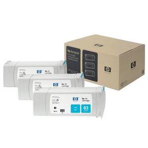 HP 83 Cyan UV Original 3 Ink Multipack