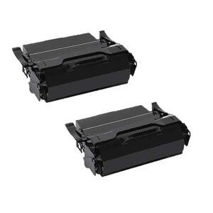 Printerinks Compatible Multipack IBM Infoprint 1852 Printer Toner Cartridges (2 Pack) -39V2513