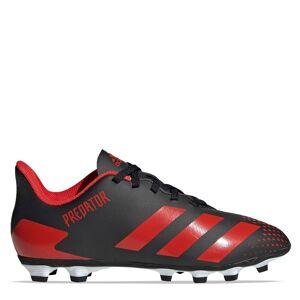 Adidas Predator 20.4 Kids FG Football Boots  - Black/White/Red - Size: 10K