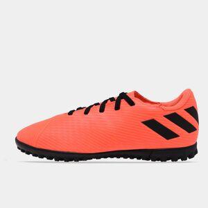 Adidas Nemeziz 19.4 Junior Astro Turf Trainers  - SignCoral/Black - Size: 3