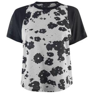 Adidas Ladys Stella Performance T Shirt  - White/Mint - Size: Extra Small
