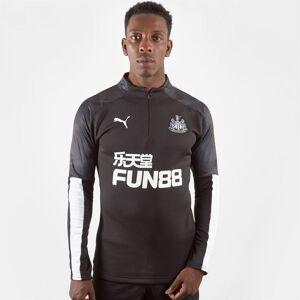 Puma Newcastle United Training Top Mens  - Black/White - Size: Medium