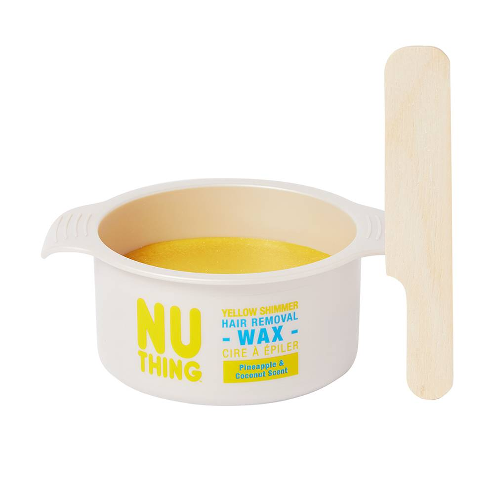NUTHING Shimmer Hair Removal Wax Yellow 100g