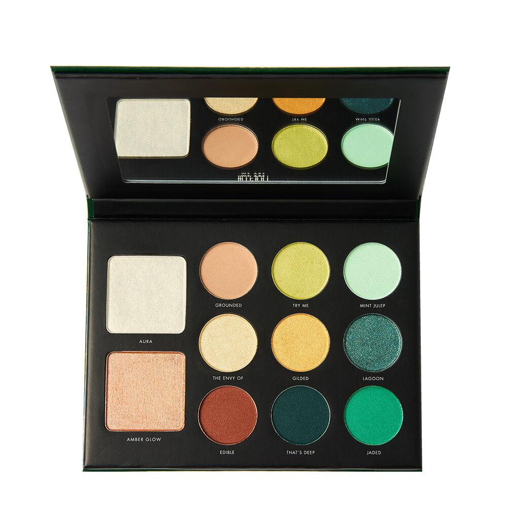 Milani Gilded Palette Jade 11.6g