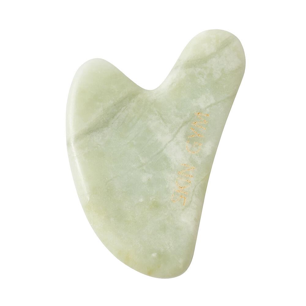 Skin Gym Jade Heart Gua Sha Crystal Sculpty Tool