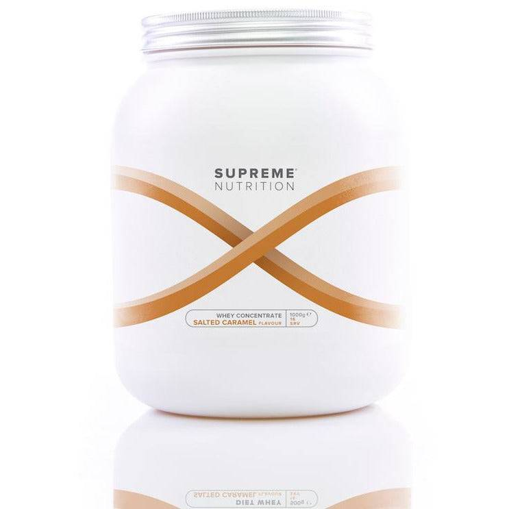 Supreme Nutrition Supreme Whey Protein Concentrate - Salted Caramel